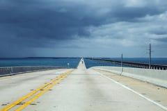 Ny del av de sju mil bro Arkivbild