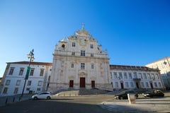 Ny domkyrka av Coimbra Royaltyfri Bild