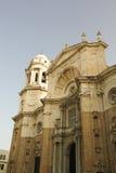 Ny domkyrka på Cadiz. Arkivfoton