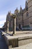 Ny domkyrka. Salamanca Arkivbilder