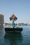 Ny Dubai Creek Abra fartygsikt Royaltyfri Bild