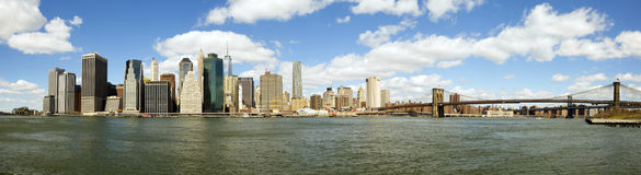 NY East River Royalty Free Stock Photography