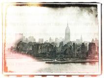 NY envelhecido Fotos de Stock