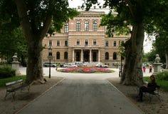 Ny EU-medlem/kroatisk akademi av vetenskaper och konster royaltyfria bilder