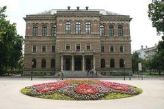 Ny EU-medlem/kroatisk akademi av vetenskaper och konster arkivfoto