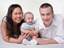 ny familj Fotografering för Bildbyråer