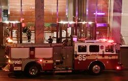 NY-firetruck Royaltyfria Foton