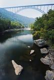 ny flod för broklyfta royaltyfri fotografi