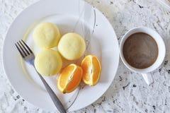 ny frukost Royaltyfria Bilder