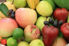Ny frukt för blandning arkivbild