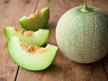 Ny frukt för japangräsplanmelon Royaltyfria Bilder