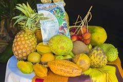 Ny frukt från Madagascar arkivfoton