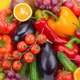 Ny frukt och grönsak Arkivbild