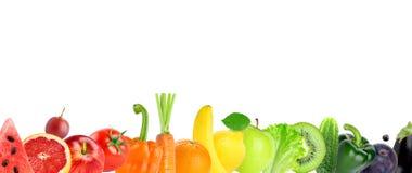 Ny frukt och grönsak royaltyfri fotografi