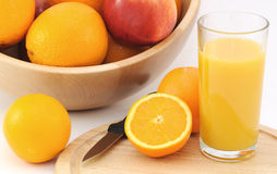 ny fruktfruktsaft Arkivbild