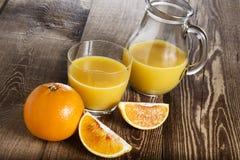 ny fruktfruktsaft Royaltyfri Fotografi