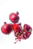 ny fruktfruktsaftpomegranate Royaltyfria Foton