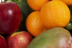 ny fruktgrupp Arkivbild