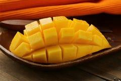 Ny fruktmango Royaltyfri Foto