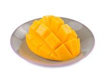 ny fruktmango för läcker maträtt Fotografering för Bildbyråer