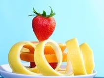 ny fruktplatta Royaltyfri Foto