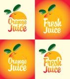 Ny fruktsaft vektor illustrationer