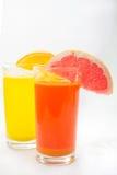 Ny fruktsaft Fotografering för Bildbyråer
