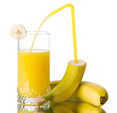 ny fruktsaft för banan Royaltyfri Bild
