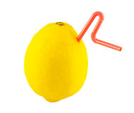 ny fruktsaftcitron Arkivfoto