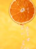 ny fruktsaftorange Arkivbild