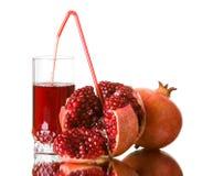 ny fruktsaftpomegranate Fotografering för Bildbyråer