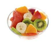 ny fruktsallad Arkivfoto