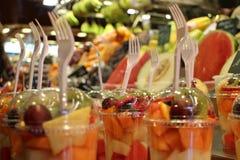 ny fruktsallad Arkivfoton