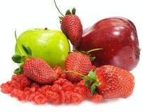 ny fruktset Fotografering för Bildbyråer