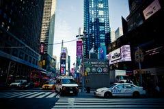 ny fyrkantig tid york Royaltyfri Bild