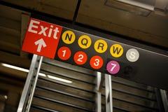 ny gångtunnel york Royaltyfri Fotografi