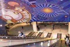 ny gångtunnel york för stad fotografering för bildbyråer
