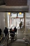ny gångtunnel york för stad Arkivfoto