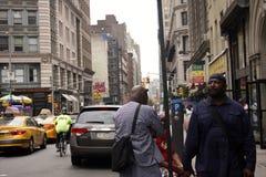 ny gata york för livstid Fotografering för Bildbyråer