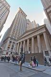 ny gatavägg york för stad Arkivbild