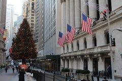 ny gatavägg york för stad Royaltyfri Bild