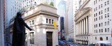 ny gatavägg york för stad Arkivfoton