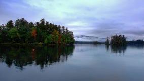ny george lake Arkivbild