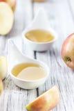 Ny gjord applesauce royaltyfria foton