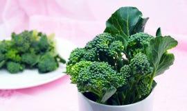 Ny grön broccoli för gör mat Royaltyfri Foto