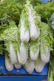 Ny grönsak i marknad Arkivbild