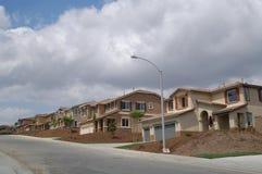 ny grannskap Arkivfoto