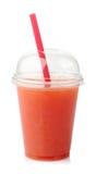 Ny grapefruktfruktsaft Fotografering för Bildbyråer