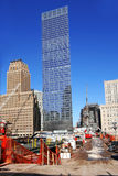NY - ground zero Stock Photography