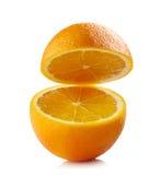 Ny halv apelsin arkivfoton